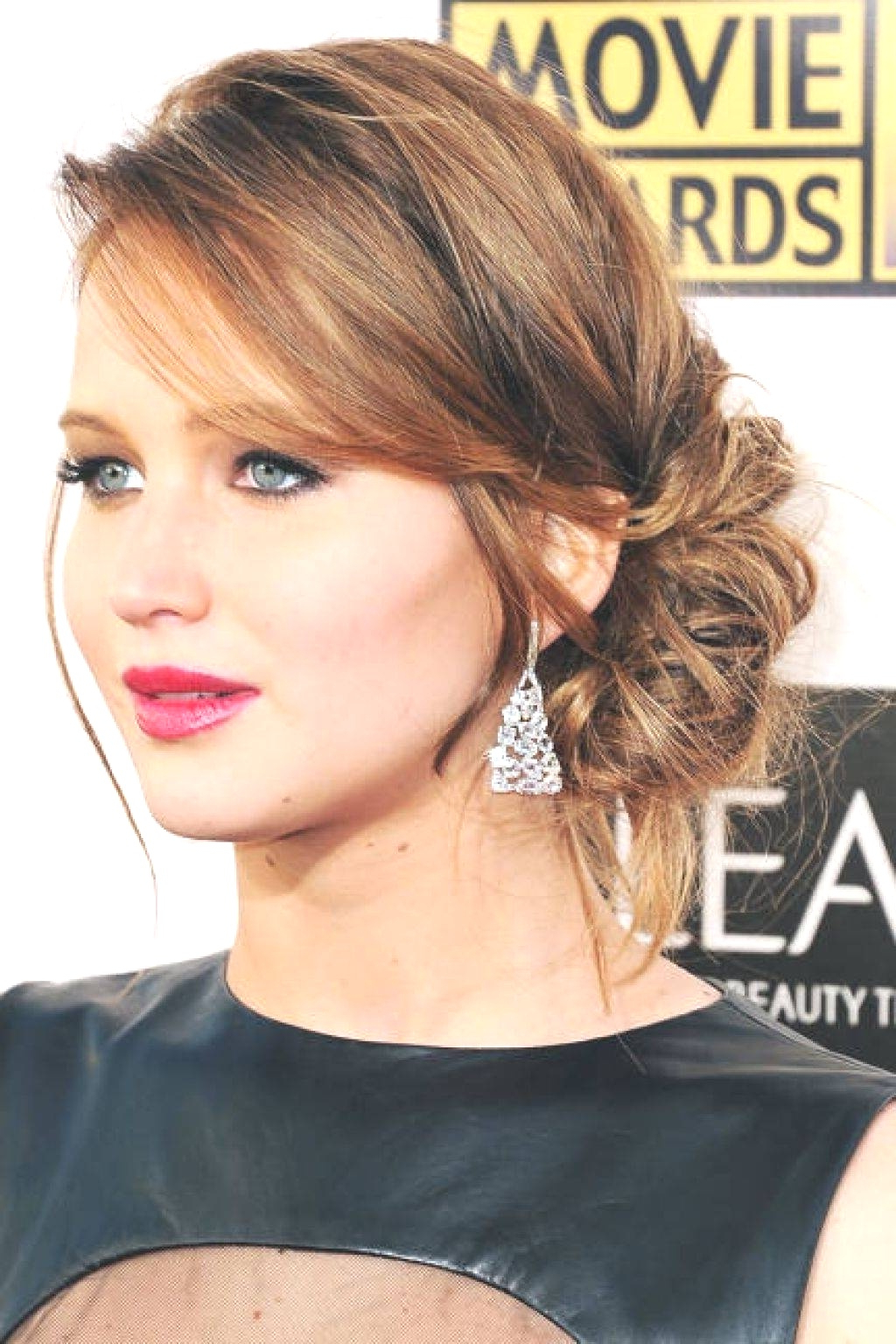 Hairstyles : Curly Side Bun Wedding Hairstyles Stunning Messy Hair With Regard To Best And Newest Side Bun Prom Hairstyles With Soft Curls (View 13 of 20)