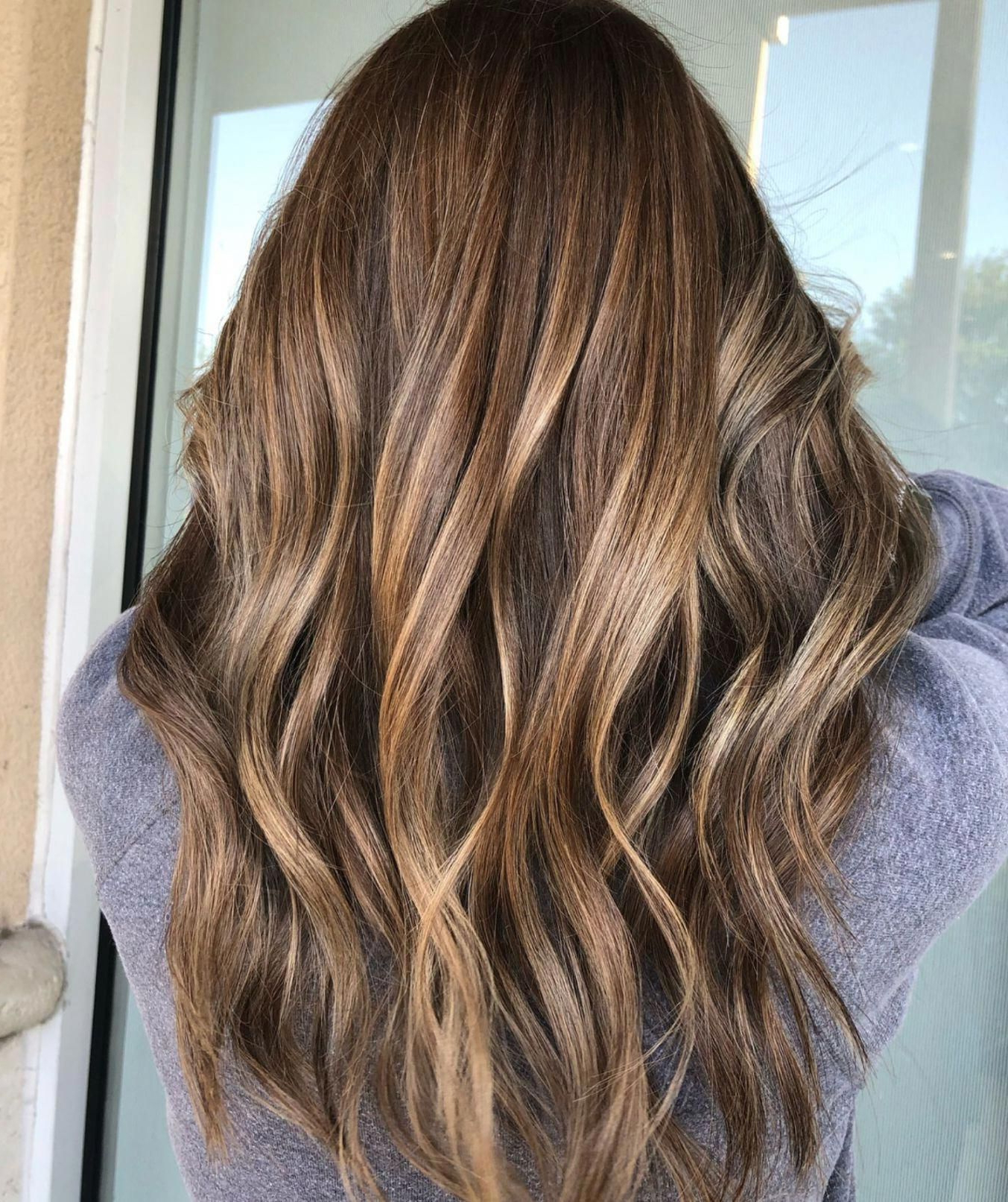 Hairstyles : Dark Brown To Light Brown Ombre Medium Hair Scenic With Regard To Popular Layered Ombre For Long Hairstyles (View 15 of 20)
