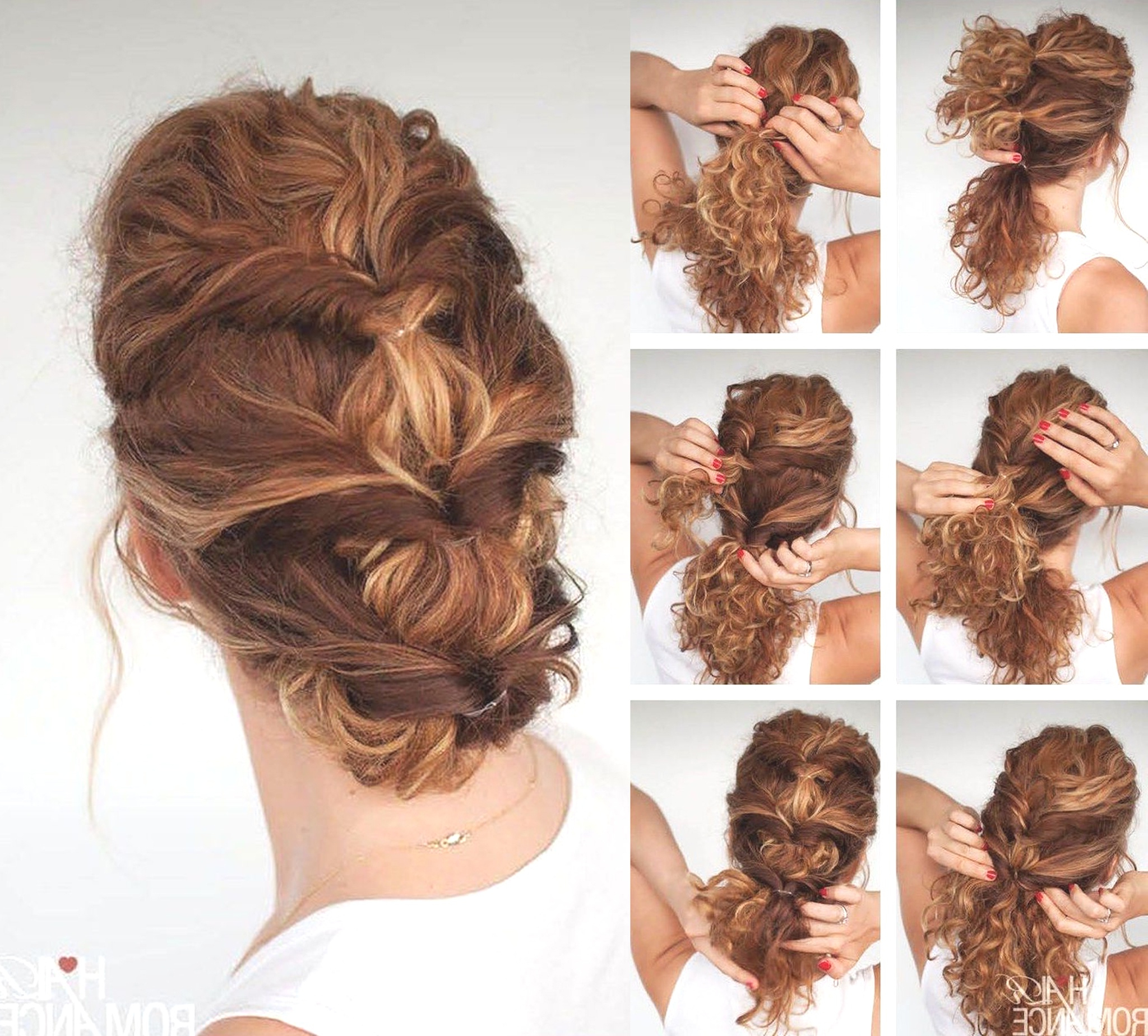 Hairstyles : Easy Updos For Thick Hair Marvellous Perfect Tousled Throughout Favorite Tousled Prom Updos For Long Hair (Gallery 14 of 20)