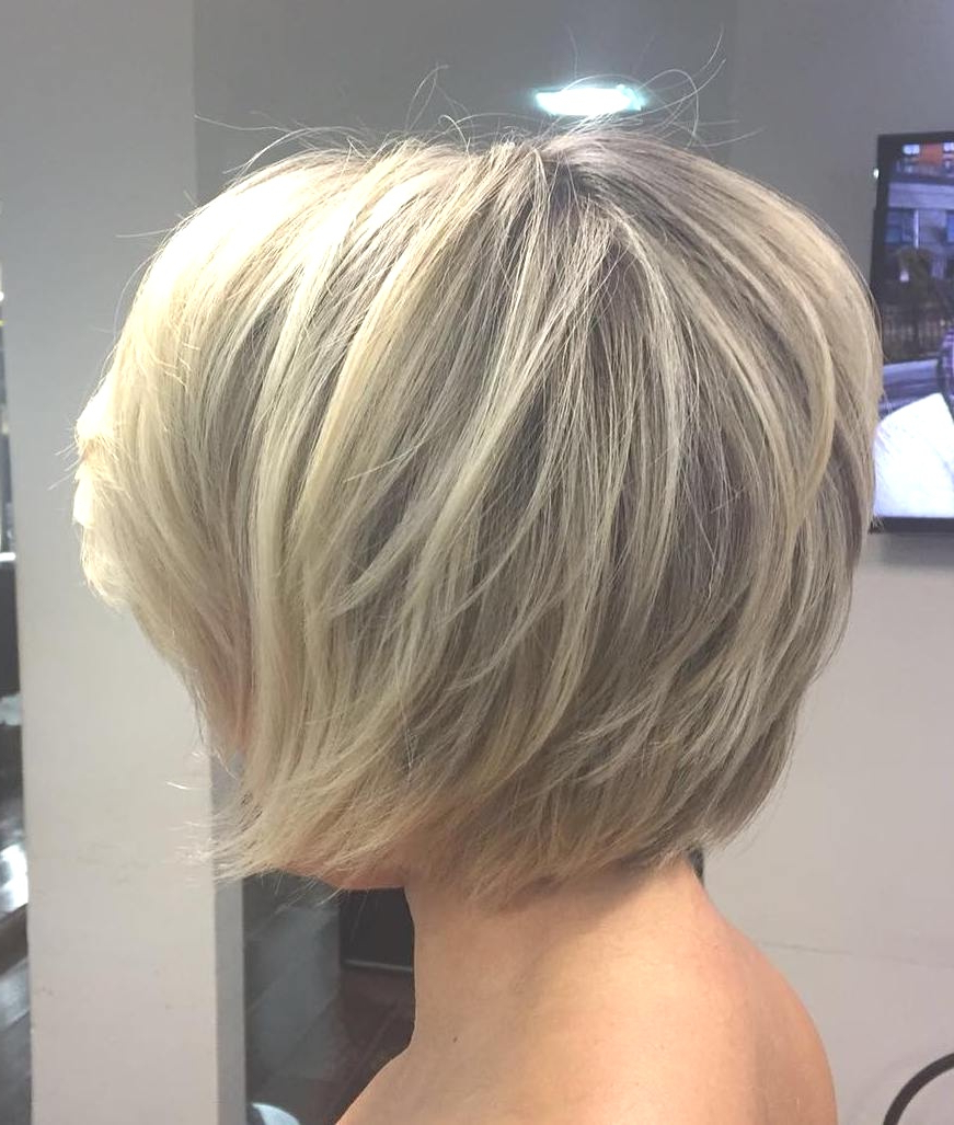 Hairstyles : Messy Layered Bob Hair Gorgeous 70 Cute And Easy To In Well Known Messy Layered Haircuts For Fine Hair (Gallery 11 of 20)