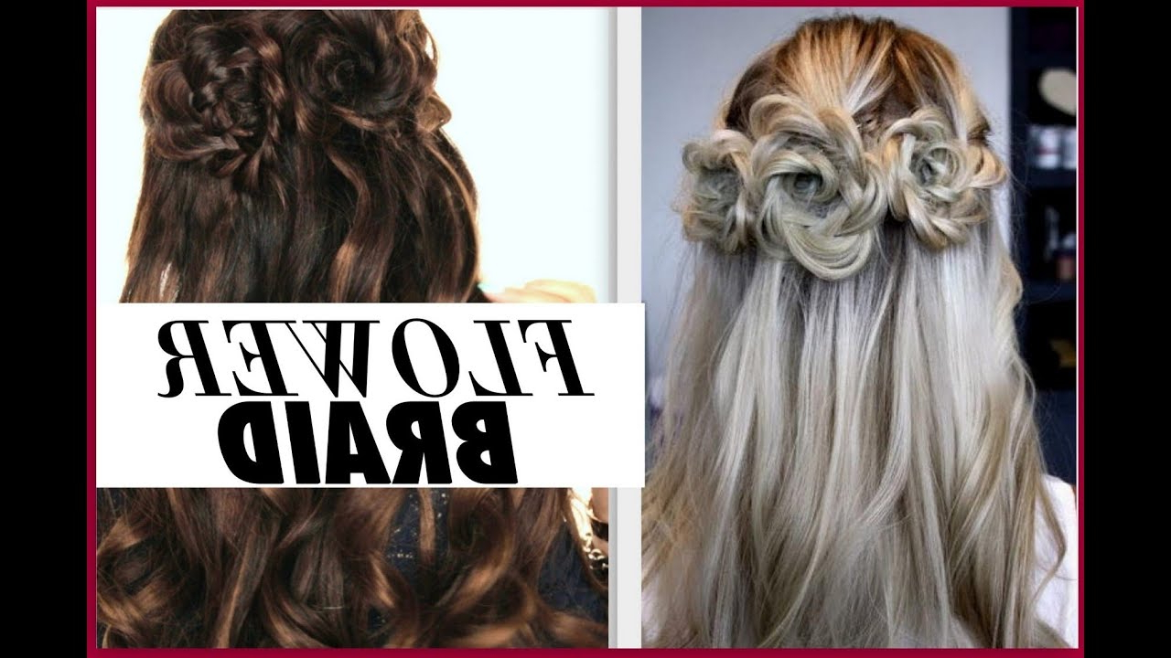 Half Up Prom Hairstyles – Youtube (View 13 of 20)