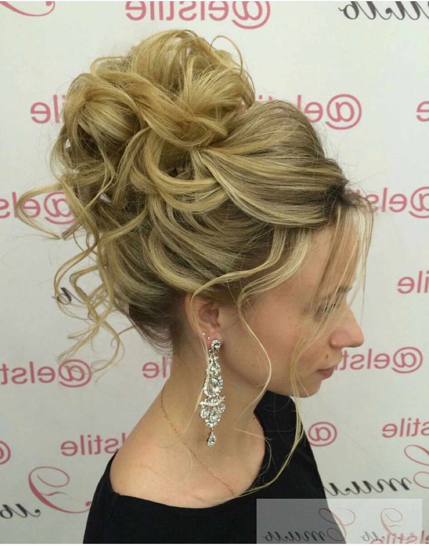 High Bun Updo ~ I Love This!! (Gallery 6 of 20)