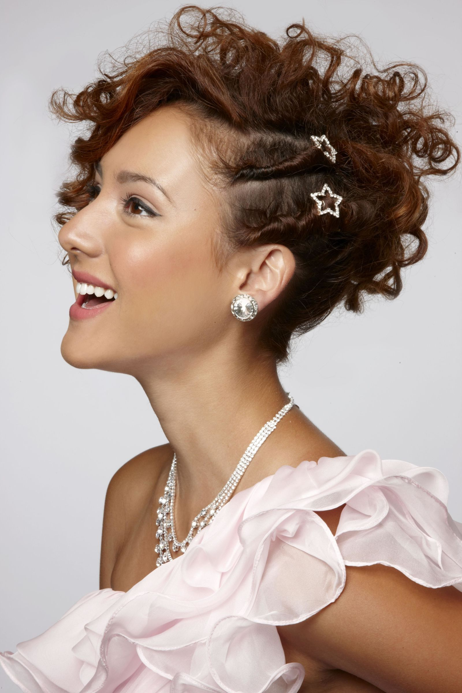 Hirerush With Widely Used Double Twist And Curls To One Side Prom Hairstyles (View 14 of 20)