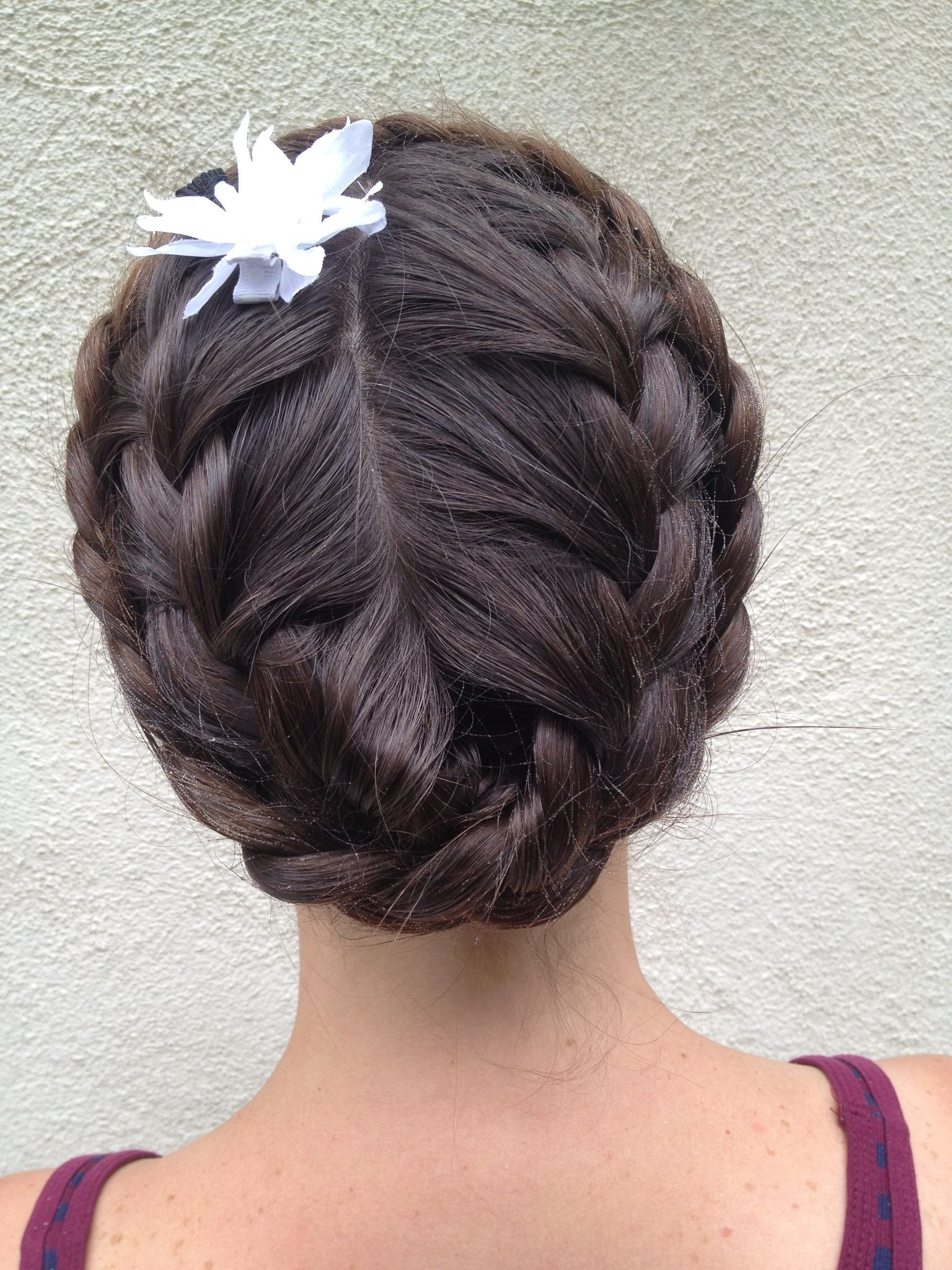 How To Do An Upside Down Double Crown Braid Wish My Hair Was Thick Pertaining To Widely Used Double Crown Braid Prom Hairstyles (View 12 of 20)