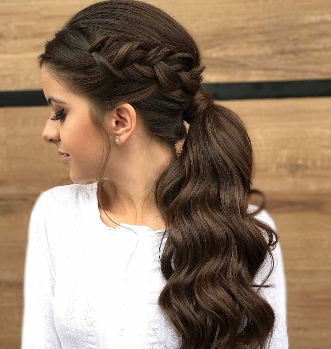 Latest Elegant Braid Side Ponytail Hairstyles With The Prom Perfect Braided Ponytail (Gallery 2 of 20)