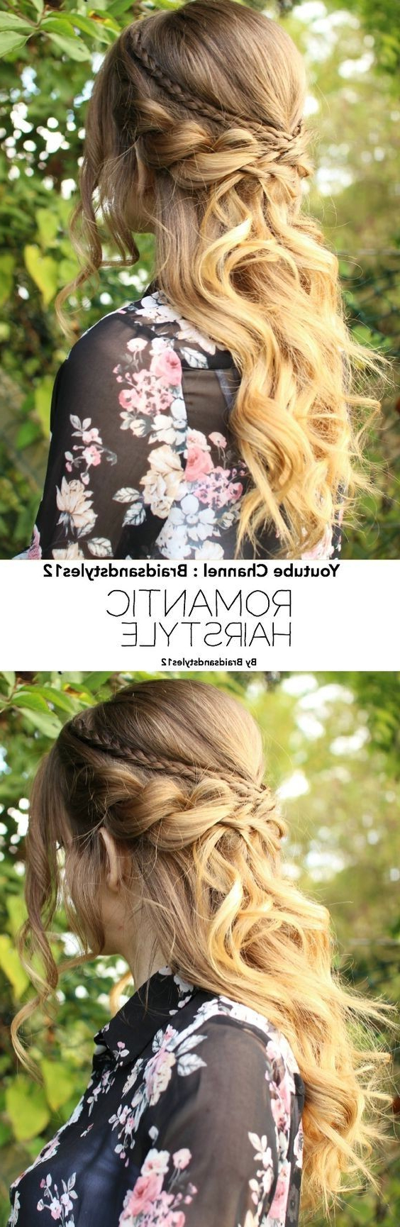 Latest Elegant Curled Prom Hairstyles In 18 Elegant Hairstyles For Prom 2019 (Gallery 17 of 20)