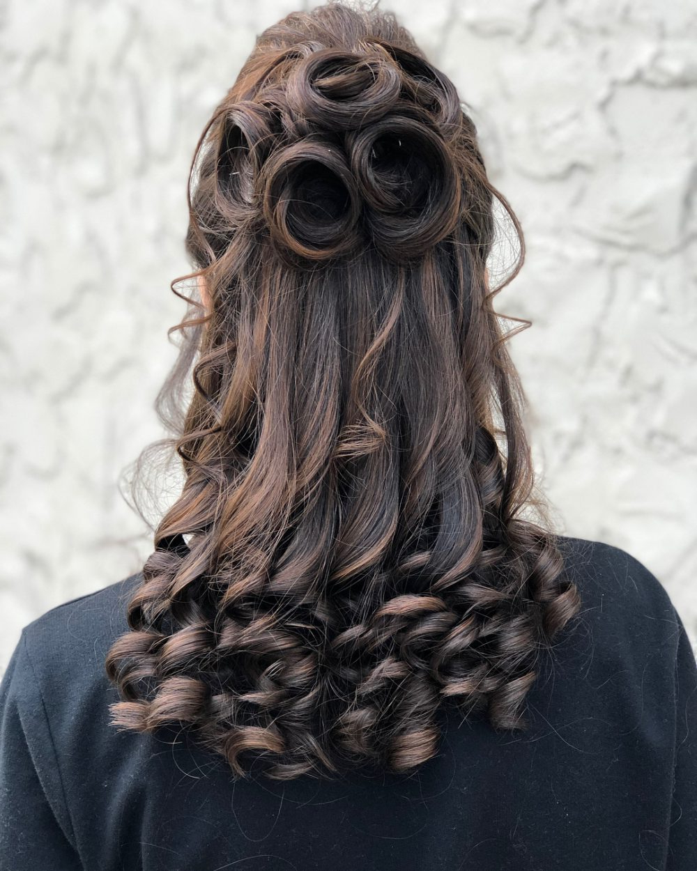 Latest Elegant Curled Prom Hairstyles Regarding 23 Cute Prom Hairstyles For 2019 – Updos, Braids, Half Ups & Down Dos (View 3 of 20)