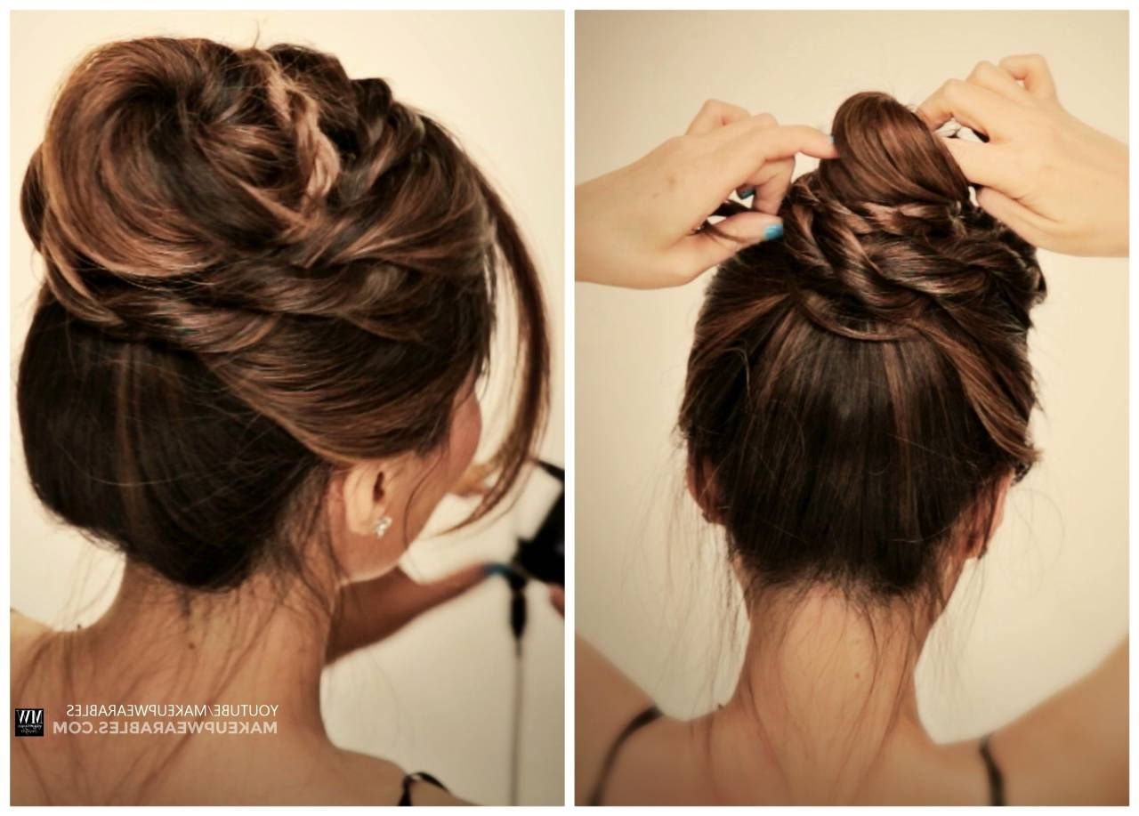 Latest Fishtail Florette Prom Updos With Regard To Updo Hairstyles For Long Hair – Hairhighlights.ga (Gallery 13 of 20)