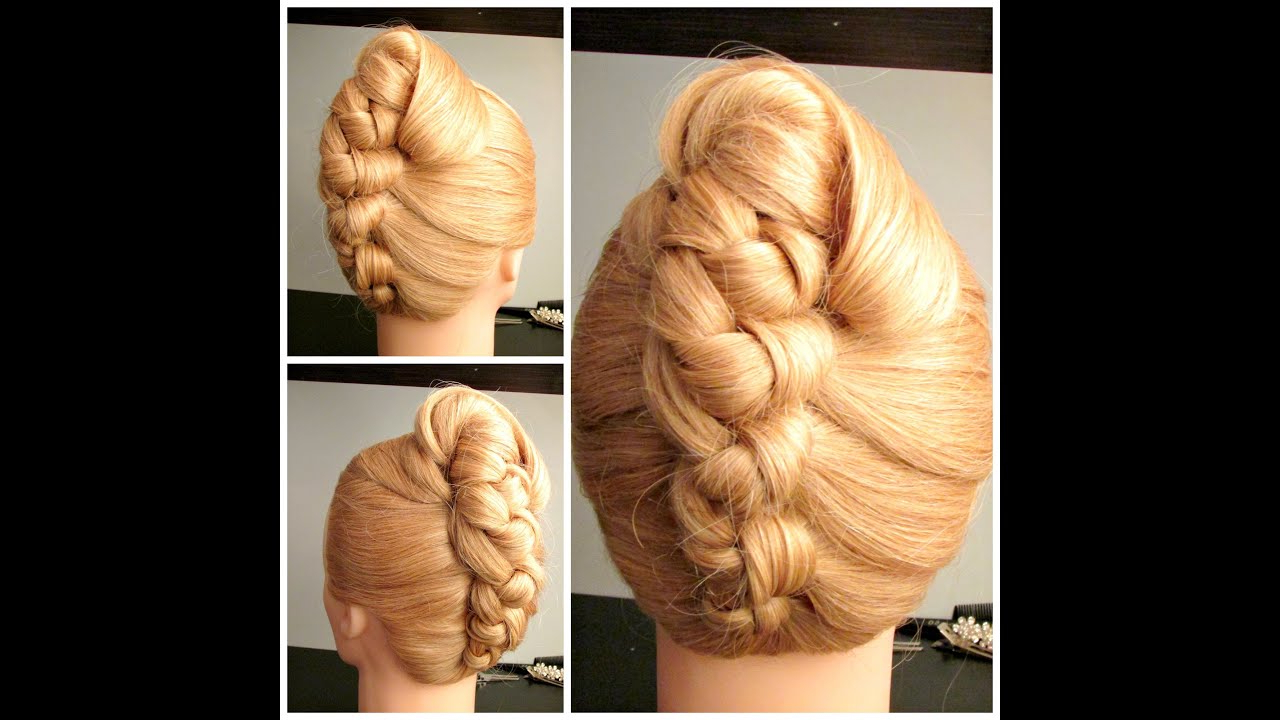 Latest French Roll Prom Hairstyles In Knot French Roll , Prom Hairstyle, Wedding Hairstyle – Youtube (View 13 of 20)
