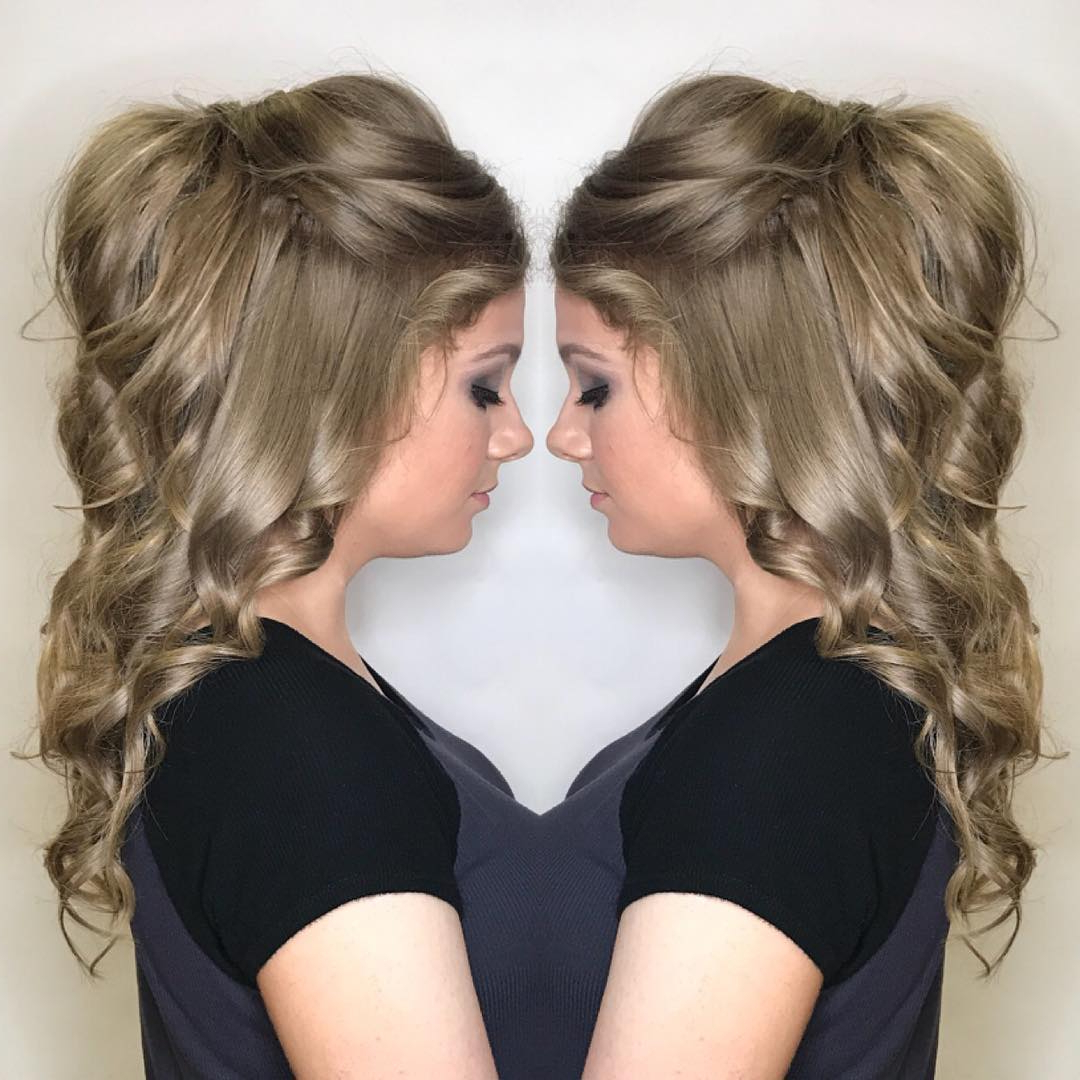 Latest Perfect Prom Look Hairstyles With 10 Cute, Cool, Messy & Elegant Hairstyles For Prom Looks You'll Love (View 7 of 20)