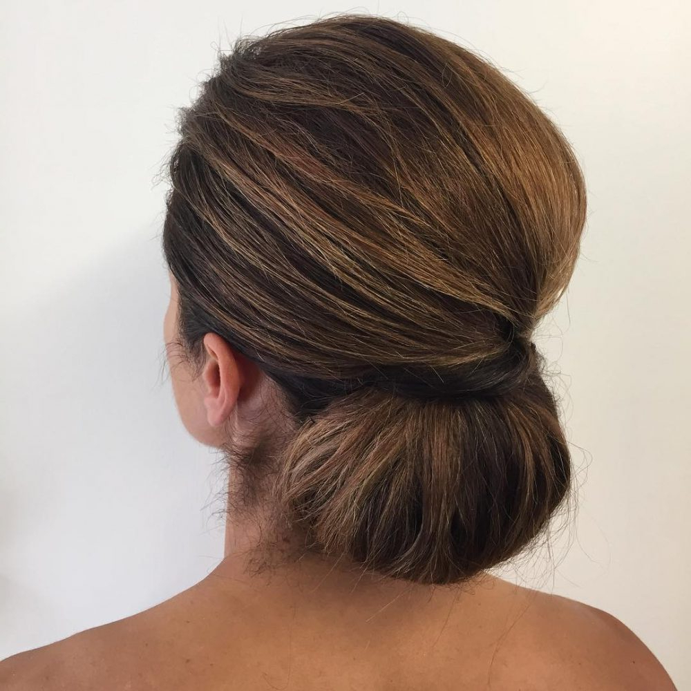 Latest Volumized Low Chignon Prom Hairstyles With 20 Simple Updos That Are Super Cute & Easy (2019 Trends) (View 9 of 20)