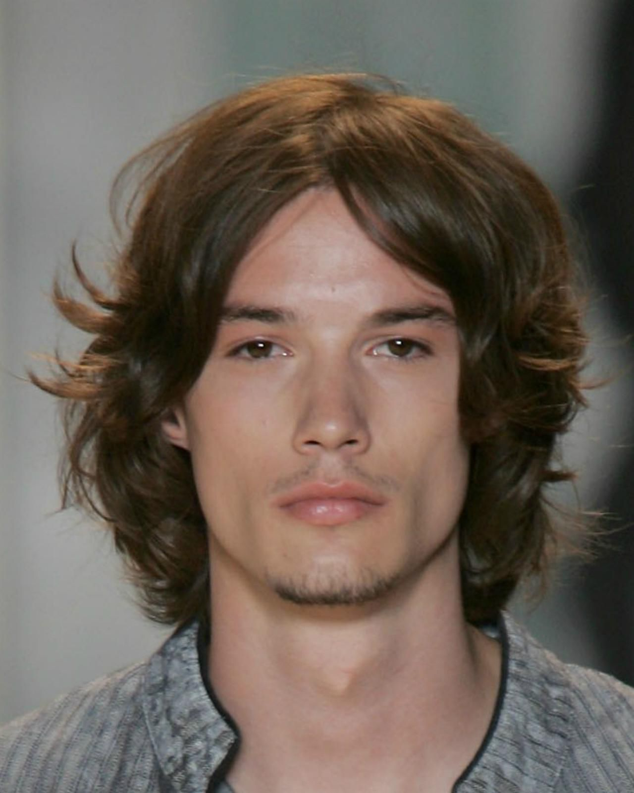 Long Hairstyles For Men Picture Gallery With Regard To Preferred Long Hairstyles With Angled Swoopy Pieces (View 11 of 20)