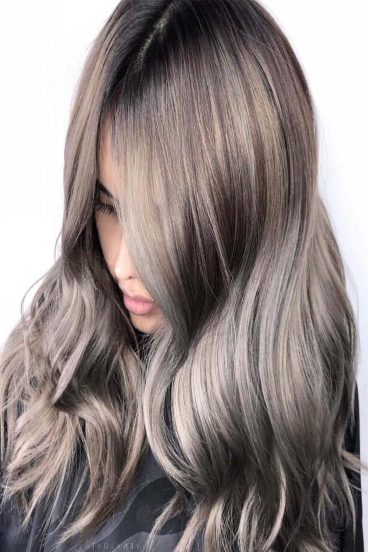 Long Layered Haircuts Charming Balayage Blonde Hair Color Ideas For Inside Best And Newest Balayage Hairstyles For Long Layers (View 18 of 20)