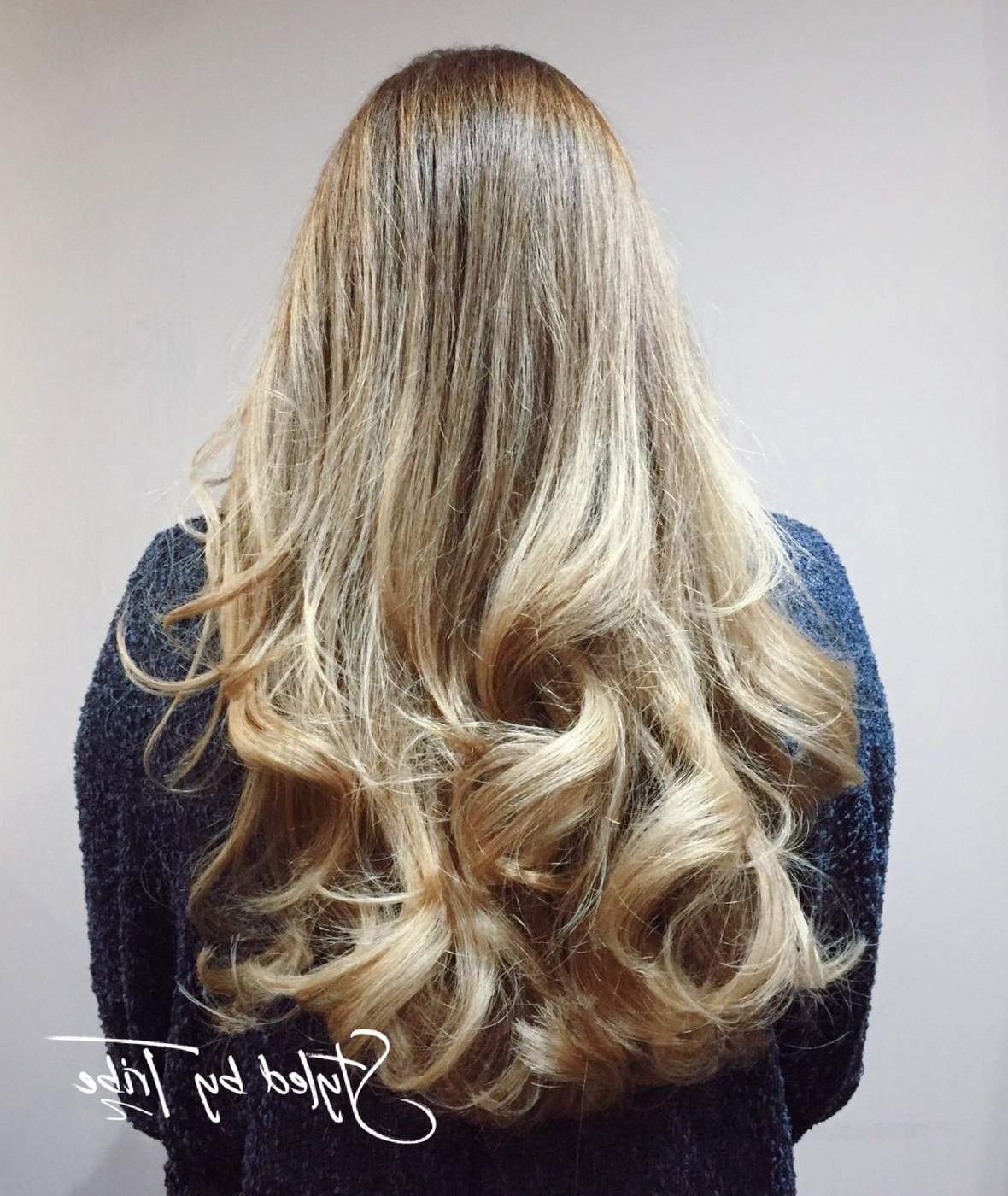 Long Layered Style With Bouncy Blow Dry (Gallery 14 of 20)