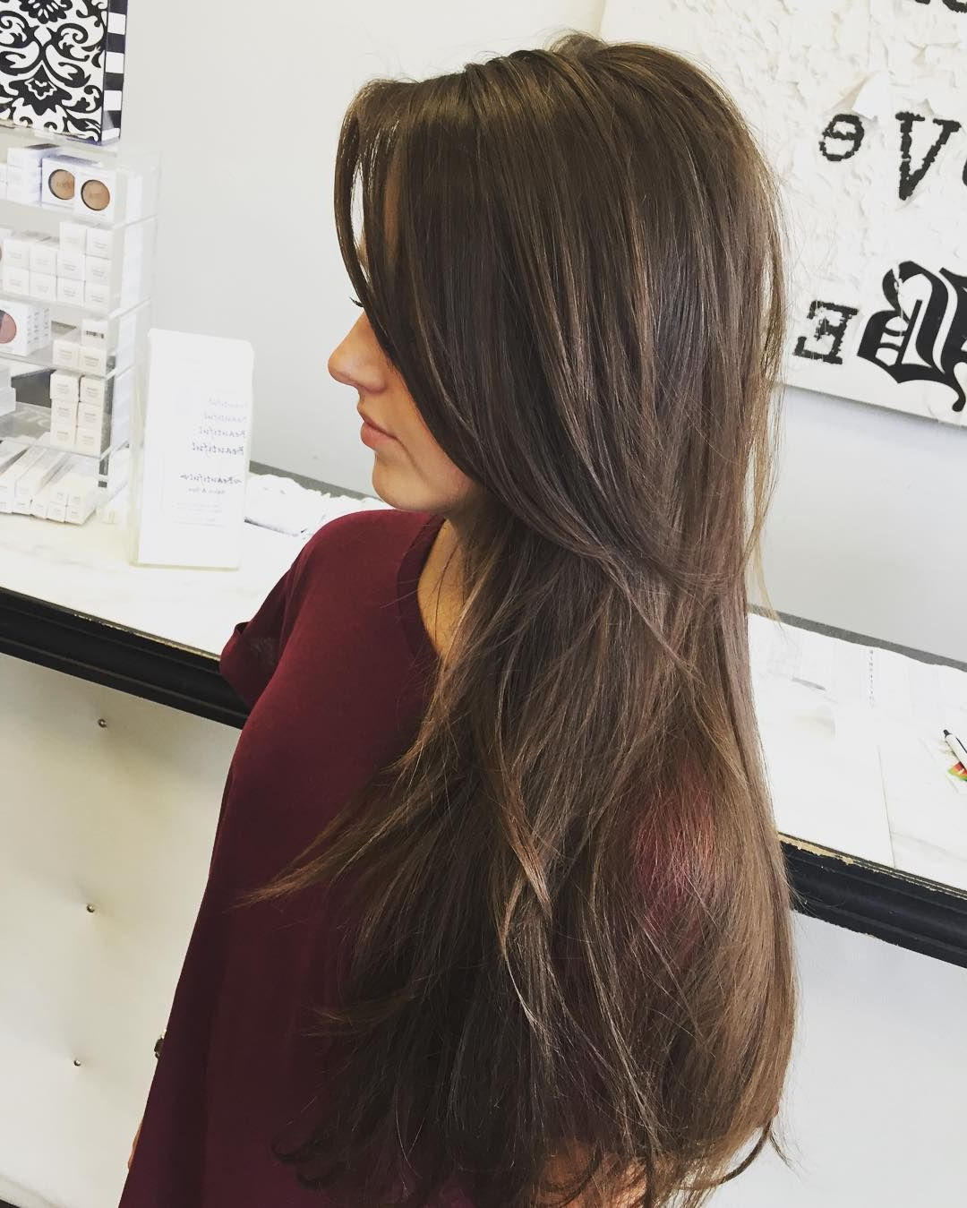 20 Photo of Straight Across Haircuts And Varied Layers