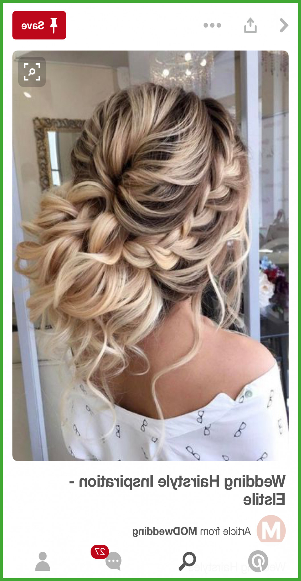 Messy Bun For Prom Hairstyle Throughout Most Popular Fishtailed Snail Bun Prom Hairstyles (View 13 of 20)