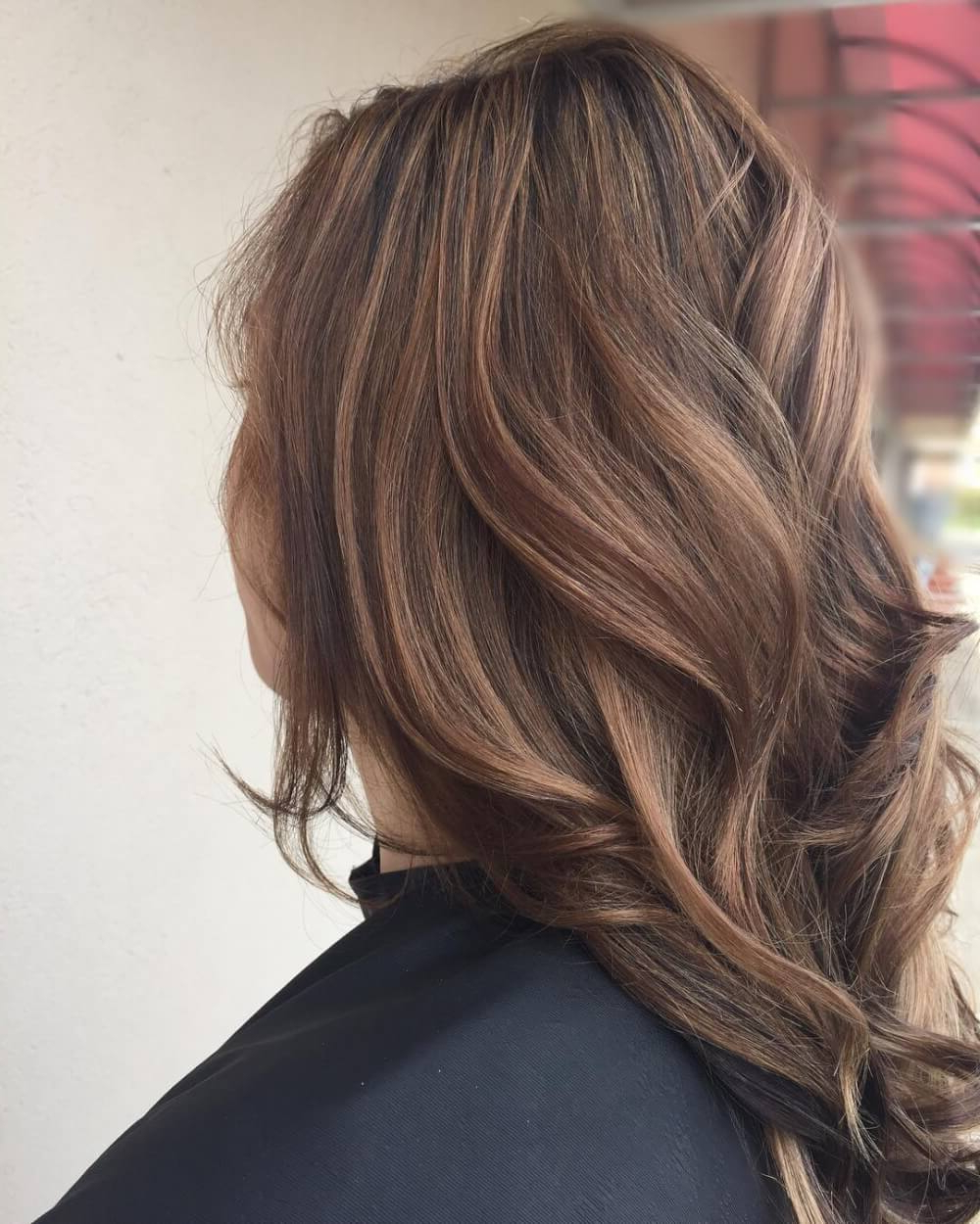 Most Current Curly Golden Brown Balayage Long Hairstyles For 36 Light Brown Hair Colors That Are Blowing Up In  (View 17 of 20)