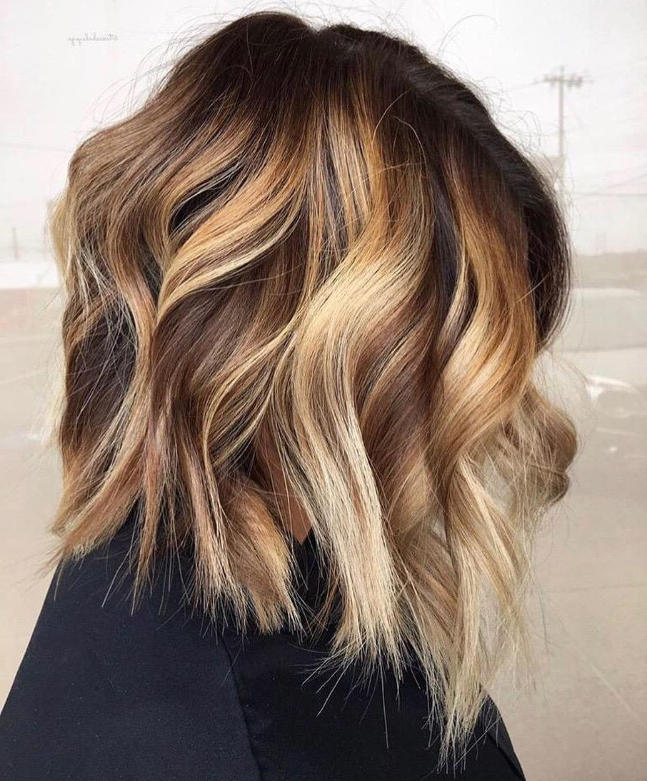 Most Current Light Layers Hairstyles Enhanced By Color Inside 10 Creative Hair Color Ideas For Medium Length Hair, Medium Haircut (View 14 of 20)
