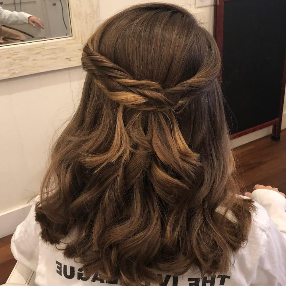 Most Current Long Layered Half Curled Hairstyles For 28 Cute Hairstyles For Medium Length Hair (popular For 2019) (View 5 of 20)