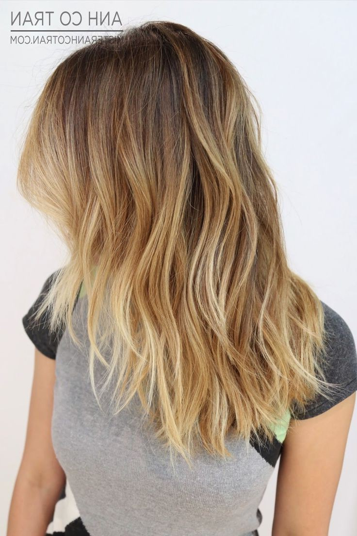 Most Current Long Layered Ombre Hairstyles Intended For 12 Trendy Medium Layered Haircuts For 2016 – Pretty Designs (View 15 of 20)