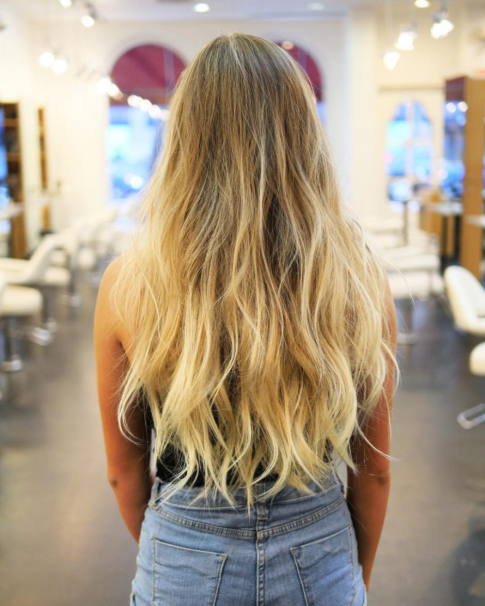 Most Current Long Layered Waves Hairstyles Regarding 34 Cutest Long Layered Haircuts Trending In  (View 14 of 20)