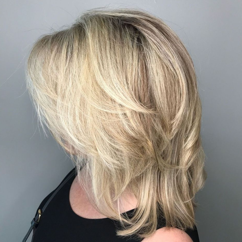 Most Current Long Texture Boosting Layers Hairstyles For 70 Perfect Medium Length Hairstyles For Thin Hair In  (View 13 of 20)