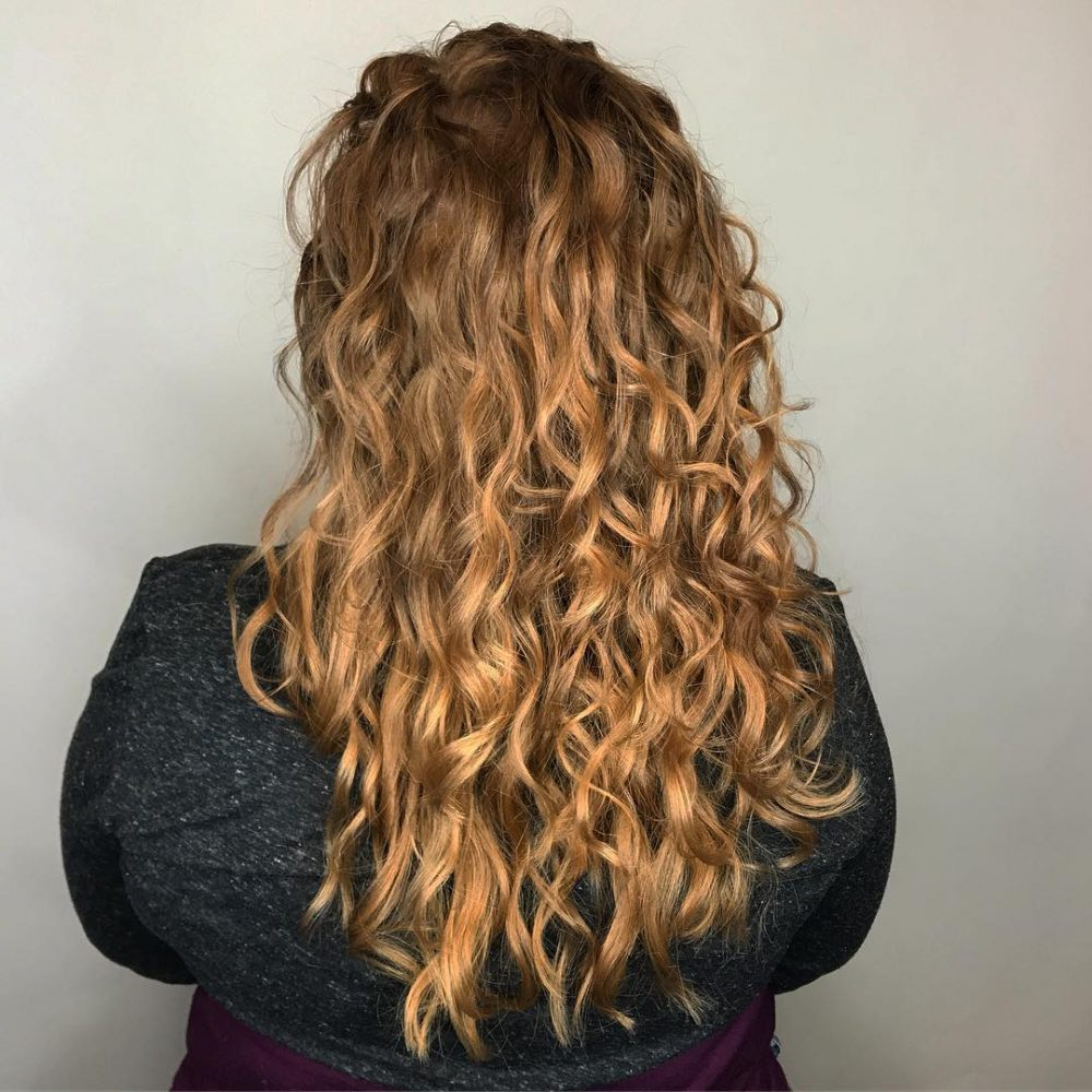 Most Current Ponytail Layered Long Hairstyles With Top 23 Long Curly Hair Ideas Of (View 13 of 20)