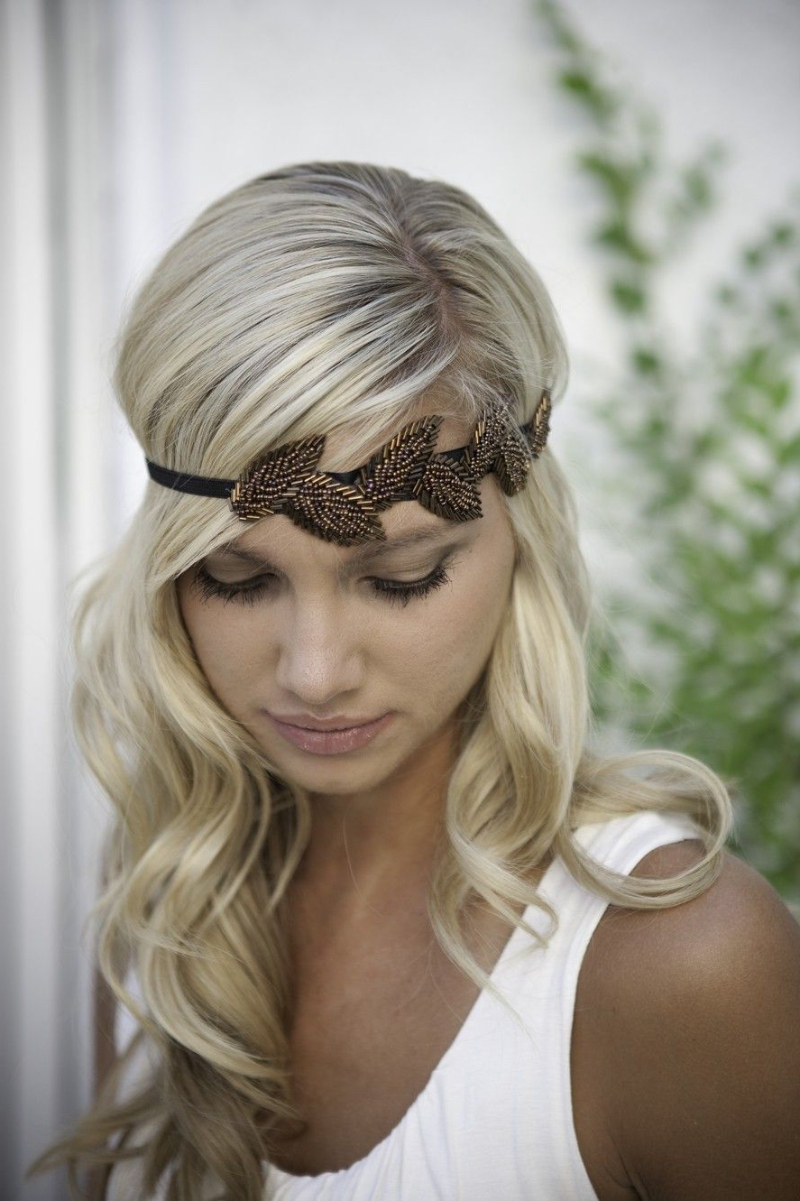 Most Current Teased Prom Updos With Cute Headband With Regard To Love This Headband! Etsy Find (View 12 of 20)