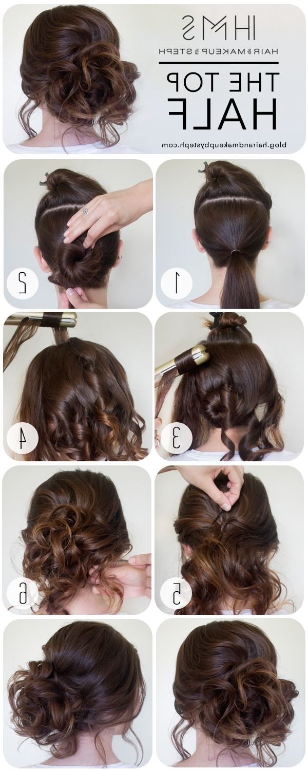 Most Current Tousled Prom Updos For Long Hair Within Perfect Tousled Updo (View 16 of 20)