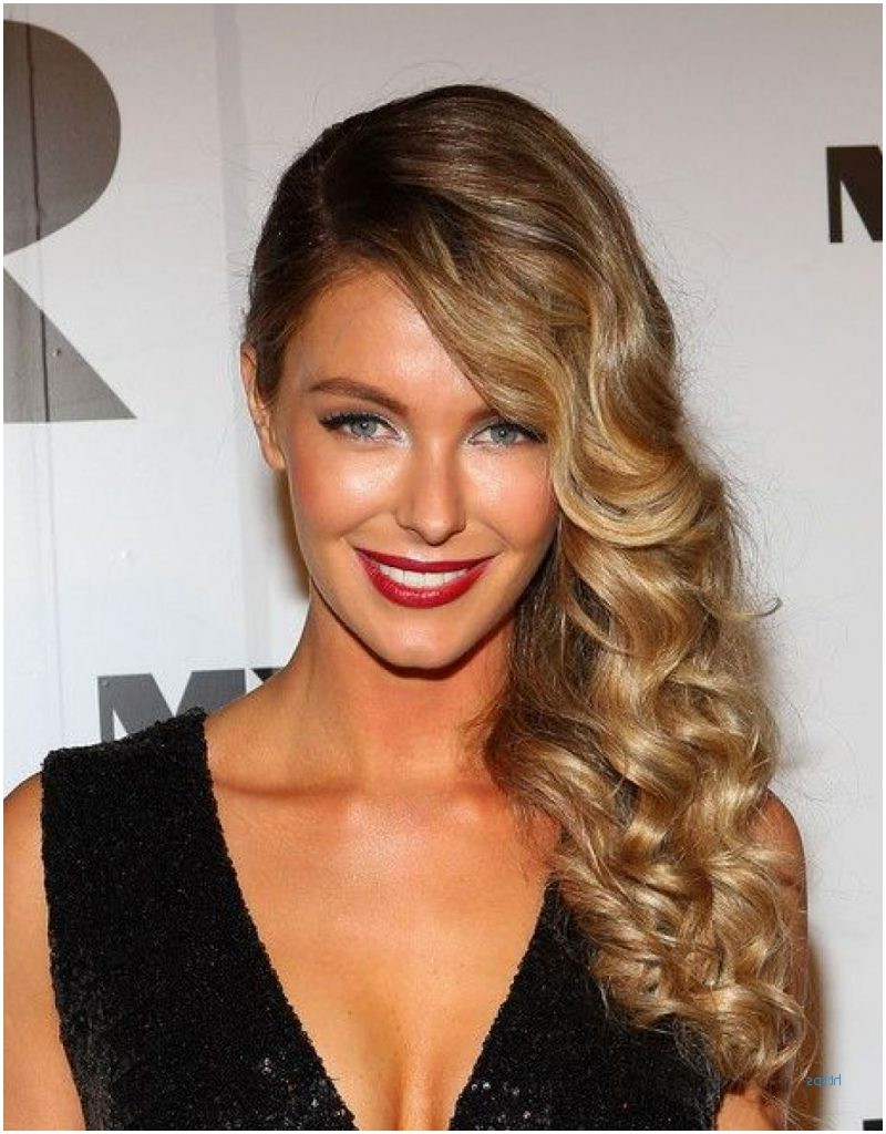 Most Popular Charming Waves And Curls Prom Hairstyles Throughout 54 Beautiful Side Hairstyles For Prom Gallery (View 13 of 20)