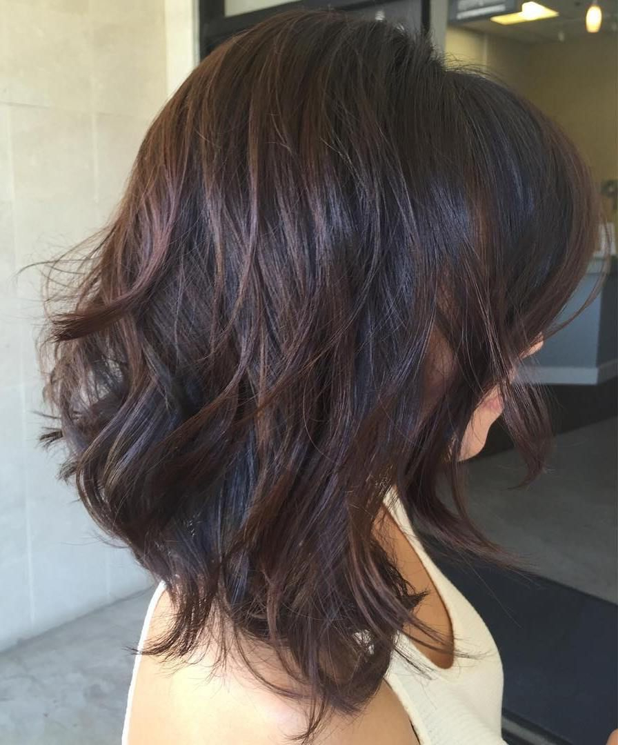 Most Popular Long Texture Boosting Layers Hairstyles In 70 Brightest Medium Layered Haircuts To Light You Up (View 14 of 20)