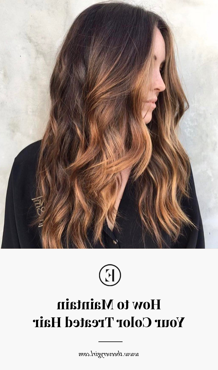 Most Popular Loose Layers Hairstyles With Silver Highlights Inside How To Maintain Your Color Treated Hair – The Everygirl (View 19 of 20)