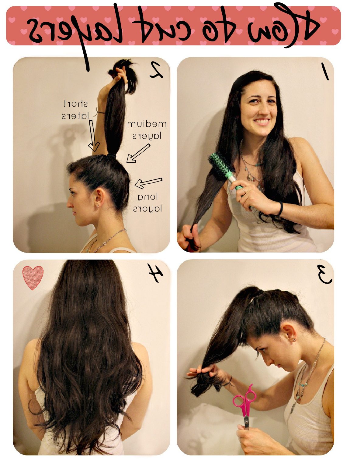 Most Popular Ponytail Layered Long Hairstyles With Regard To How To Cut Layers (View 14 of 20)