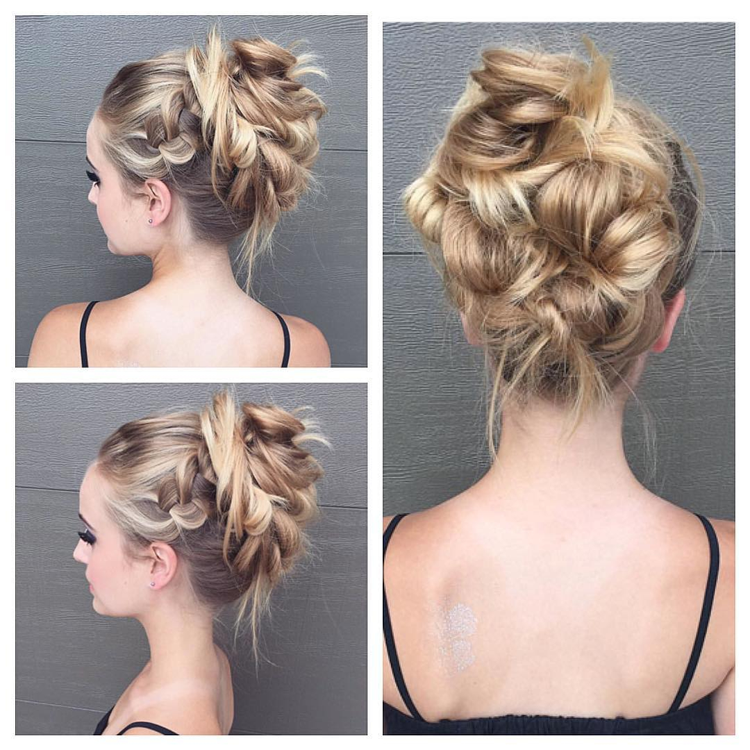 Most Recently Released Asymmetrical Knotted Prom Updos Throughout 10 New Prom Updo Hair Styles 2019 – Gorgeously Creative New Looks (View 16 of 20)