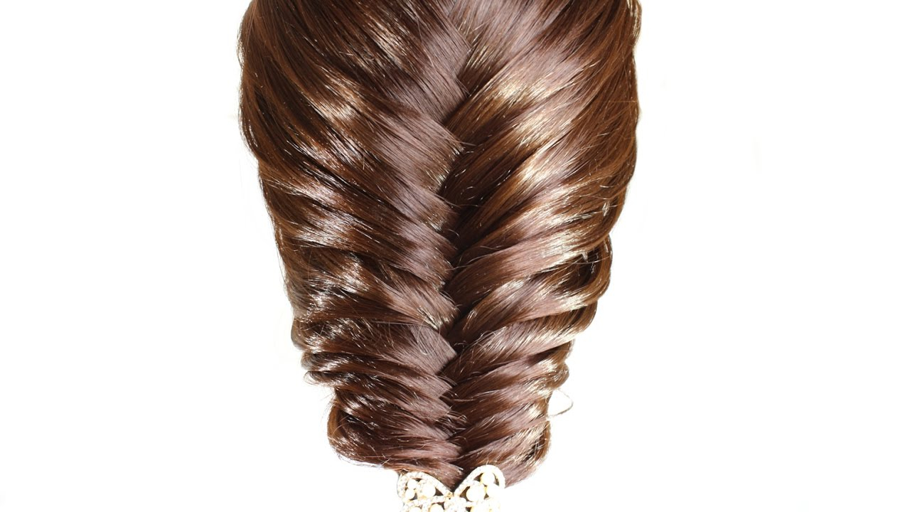 Most Recently Released Braid Spikelet Prom Hairstyles Pertaining To Easy Festive Hairstyle ❤ Hairstyle Of Spikelets – Youtube (View 11 of 20)