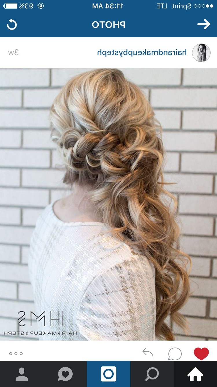 Most Recently Released Elegant Braid Side Ponytail Hairstyles For Side Swept (View 6 of 20)