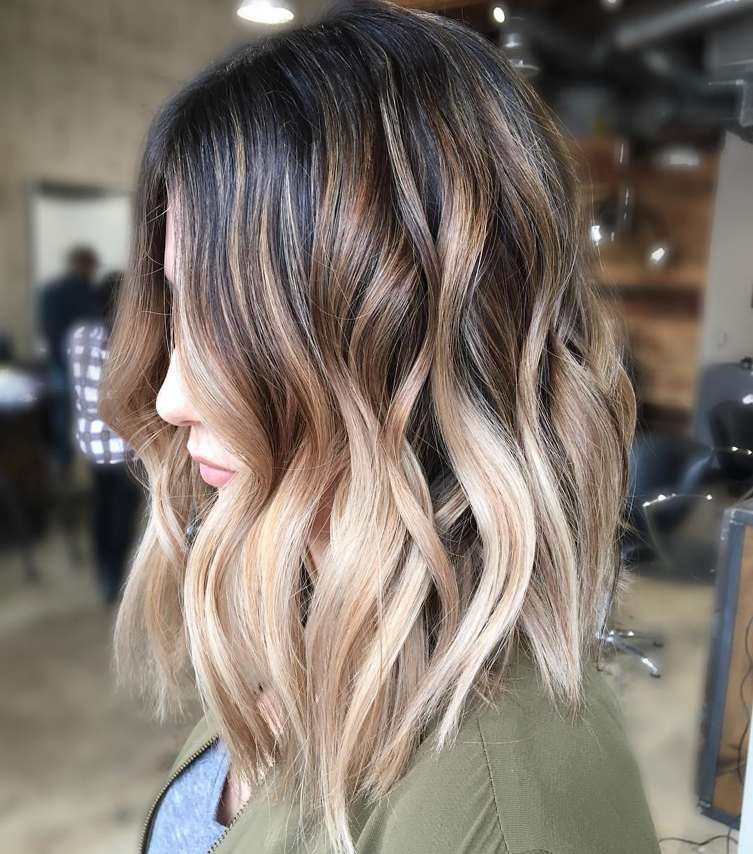 Most Recently Released Long Layered Ombre Hairstyles With 10 Balayage Ombre Hair Styles For Shoulder Length Hair, Women (View 17 of 20)