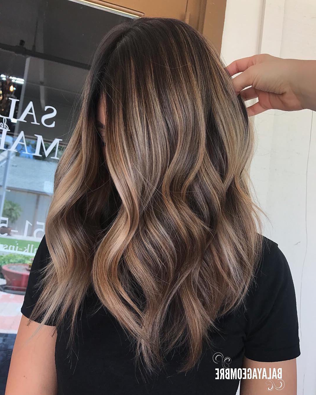 Most Recently Released Long Texture Revealing Layers Hairstyles With Regard To 10 Best Medium Layered Hairstyles 2019 – Brown & Ash Blonde Fashion (View 13 of 20)