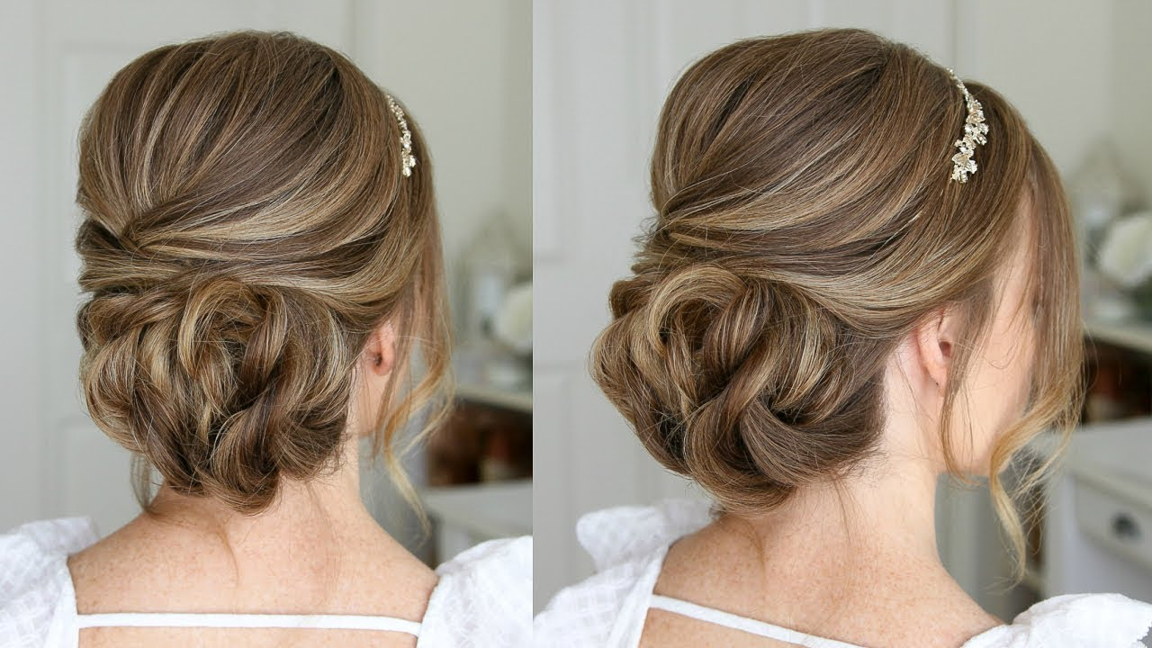 Most Recently Released Teased Prom Updos With Cute Headband Inside Simple Formal Updo (View 13 of 20)