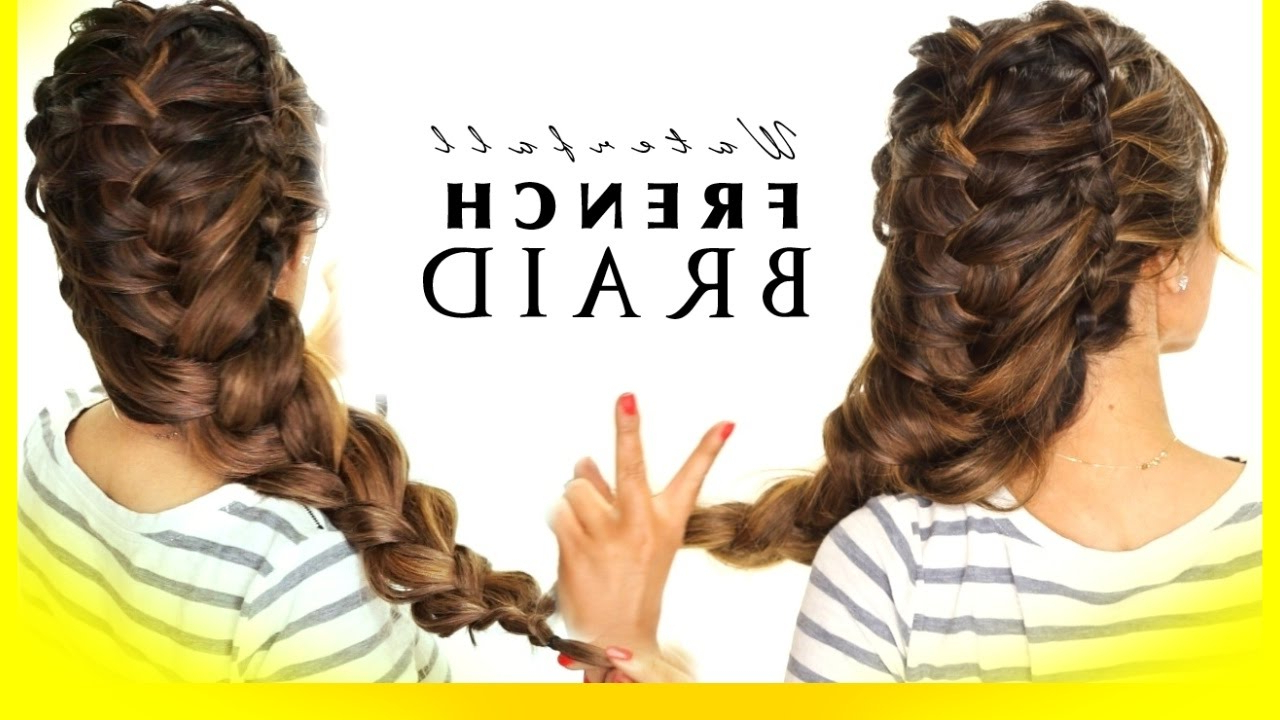 Most Up To Date Blooming French Braid Prom Hairstyles In ☆ Waterfall Elsa Braid Hair Tutorial (View 13 of 20)