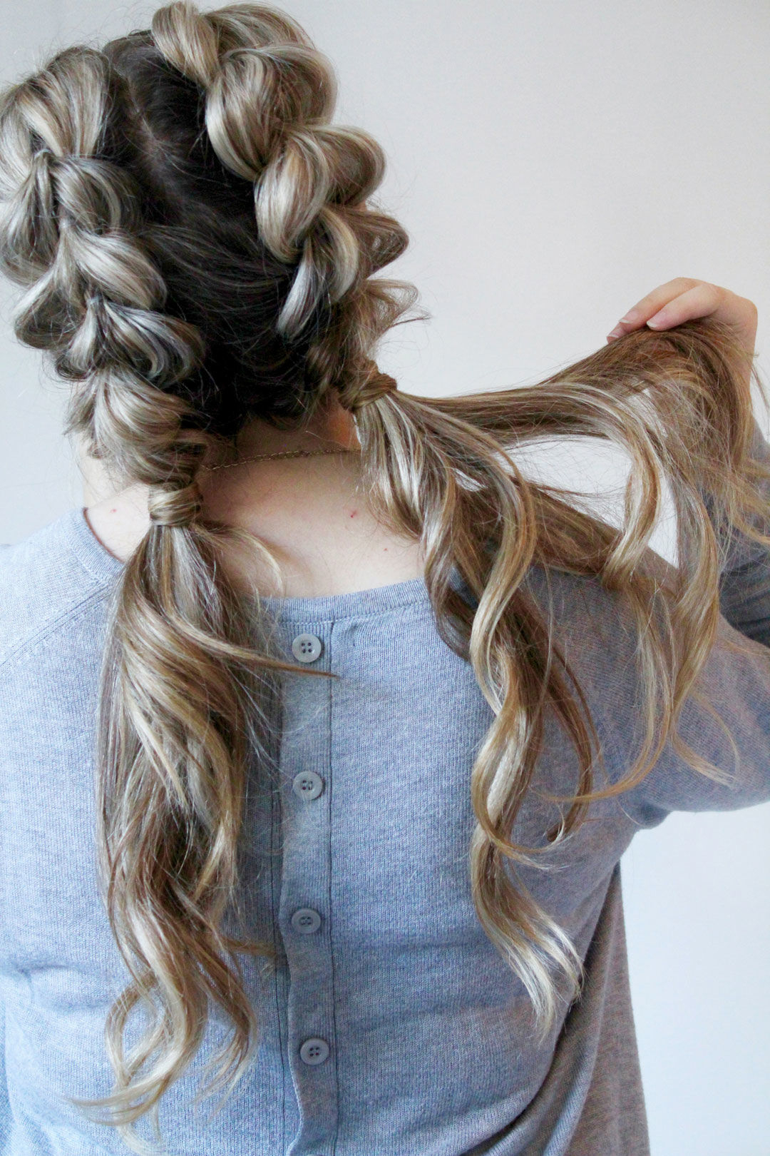 Most Up To Date Curly Half Updo With Ponytail Braids Inside Our Favorite Curly Hairstyles (View 15 of 20)