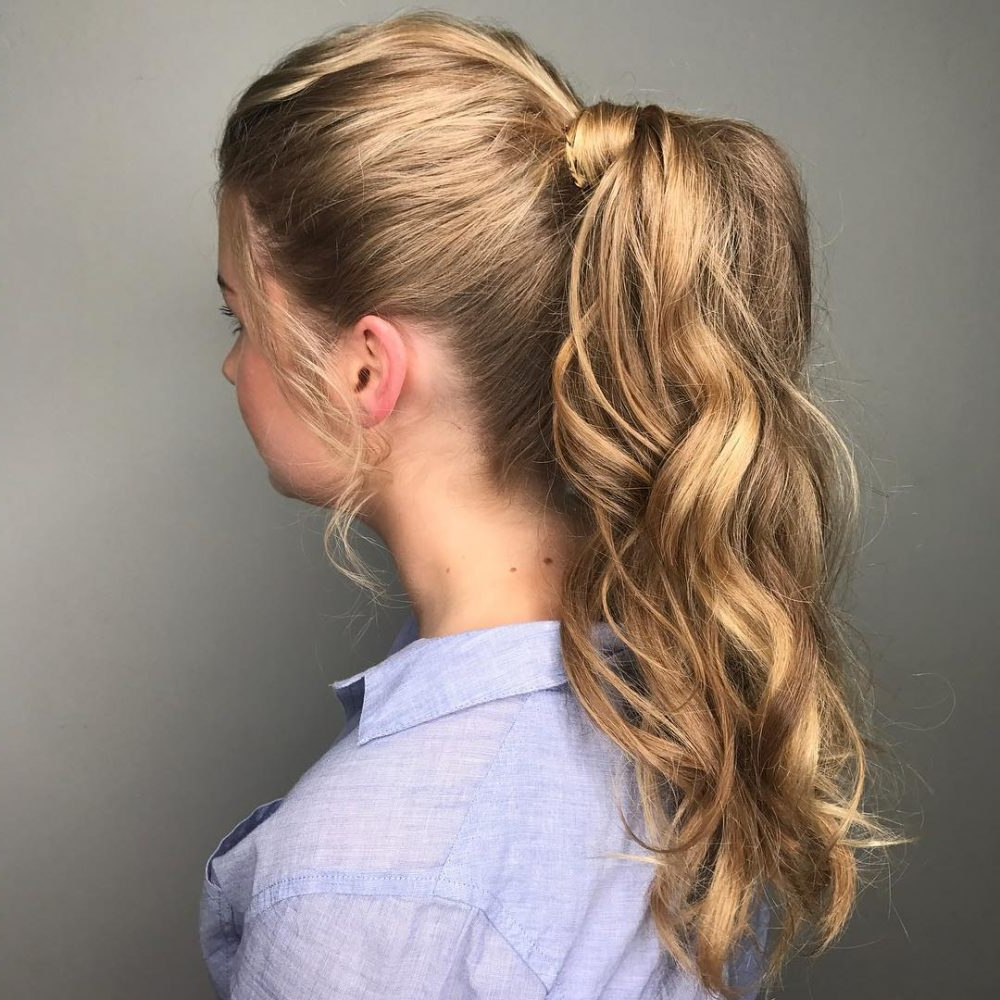 Newest Textured Side Braid And Ponytail Prom Hairstyles Inside 31 Prom Hairstyles For Long Hair That Are Gorgeous In  (View 13 of 20)