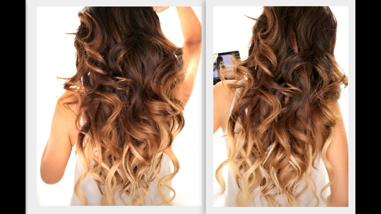 Ombre Inside Current Charming Waves And Curls Prom Hairstyles (View 15 of 20)