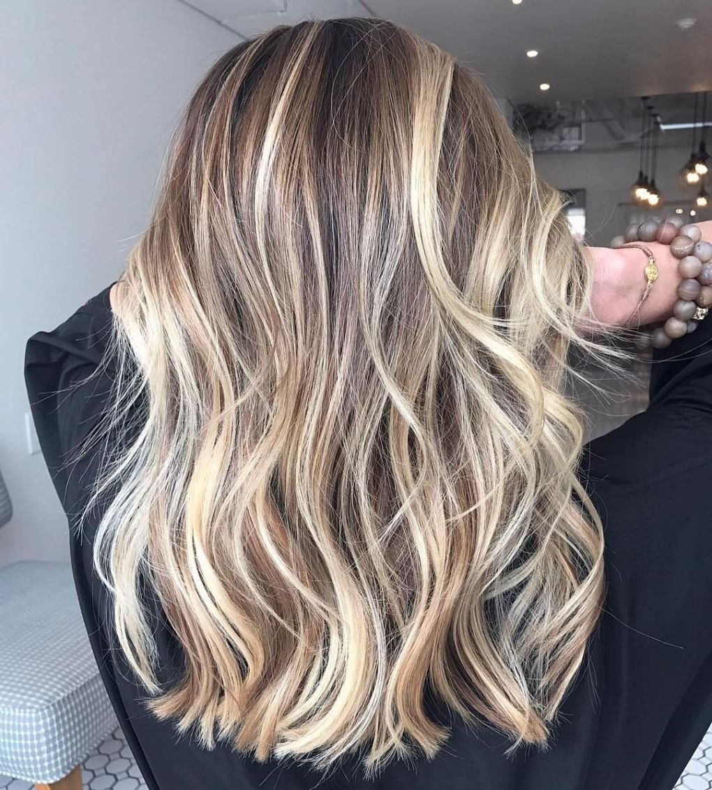 Popular Choppy Dimensional Layers For Balayage Long Hairstyles For 80 Cute Layered Hairstyles And Cuts For Long Hair (View 18 of 20)