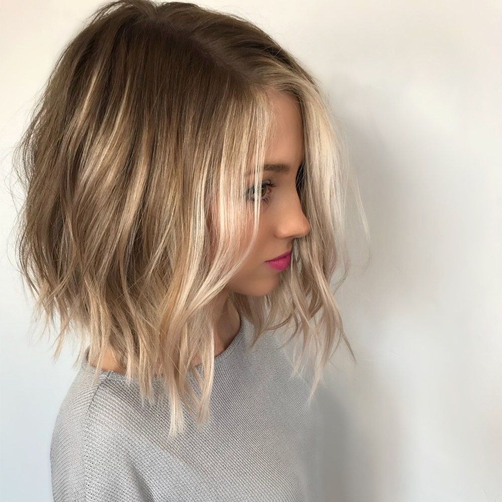 Popular Choppy Dimensional Layers For Balayage Long Hairstyles Regarding Dimensional, Face Framing Balayage In  (View 19 of 20)