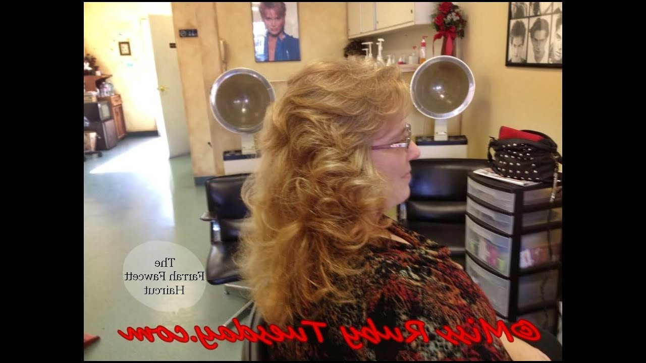 Popular Farrah Fawcett Like Layers For Long Hairstyles With Regard To Miss Ruby Tuesday How To Give The Farrah Fawcett Haircut (long Shag (Gallery 19 of 20)