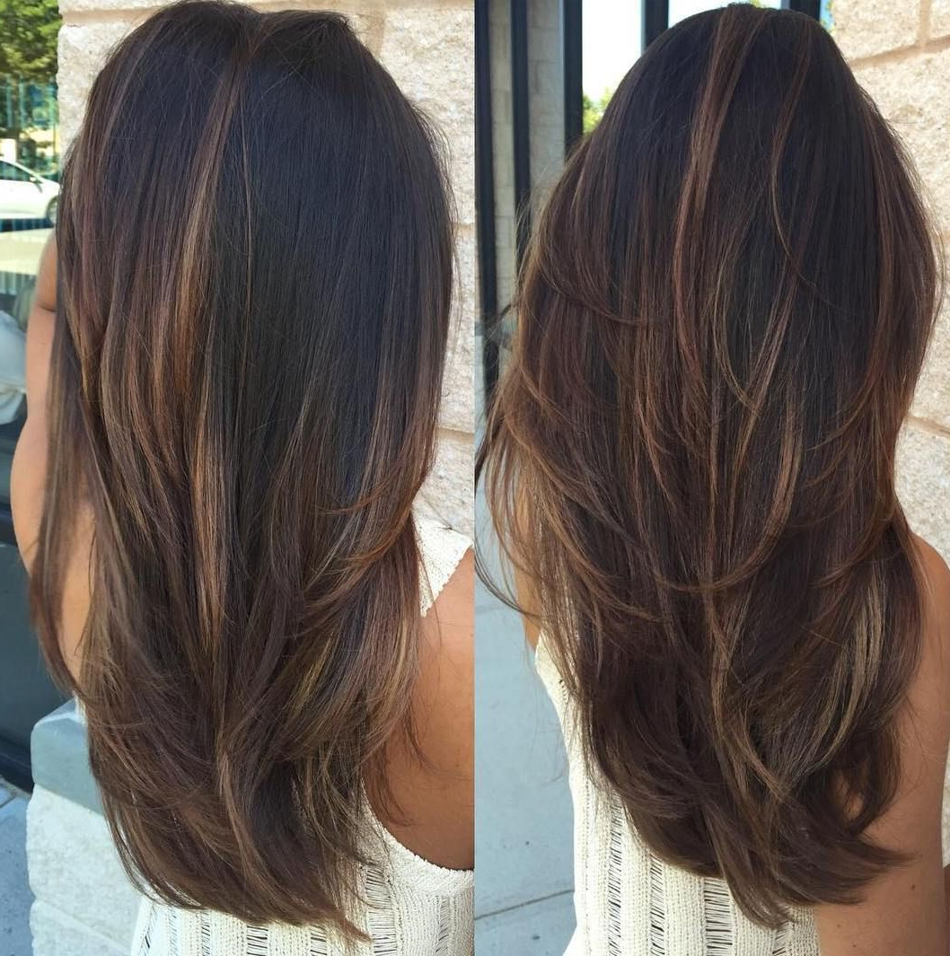 Popular Light Layers Hairstyles Enhanced By Color With 80 Cute Layered Hairstyles And Cuts For Long Hair (Gallery 1 of 20)