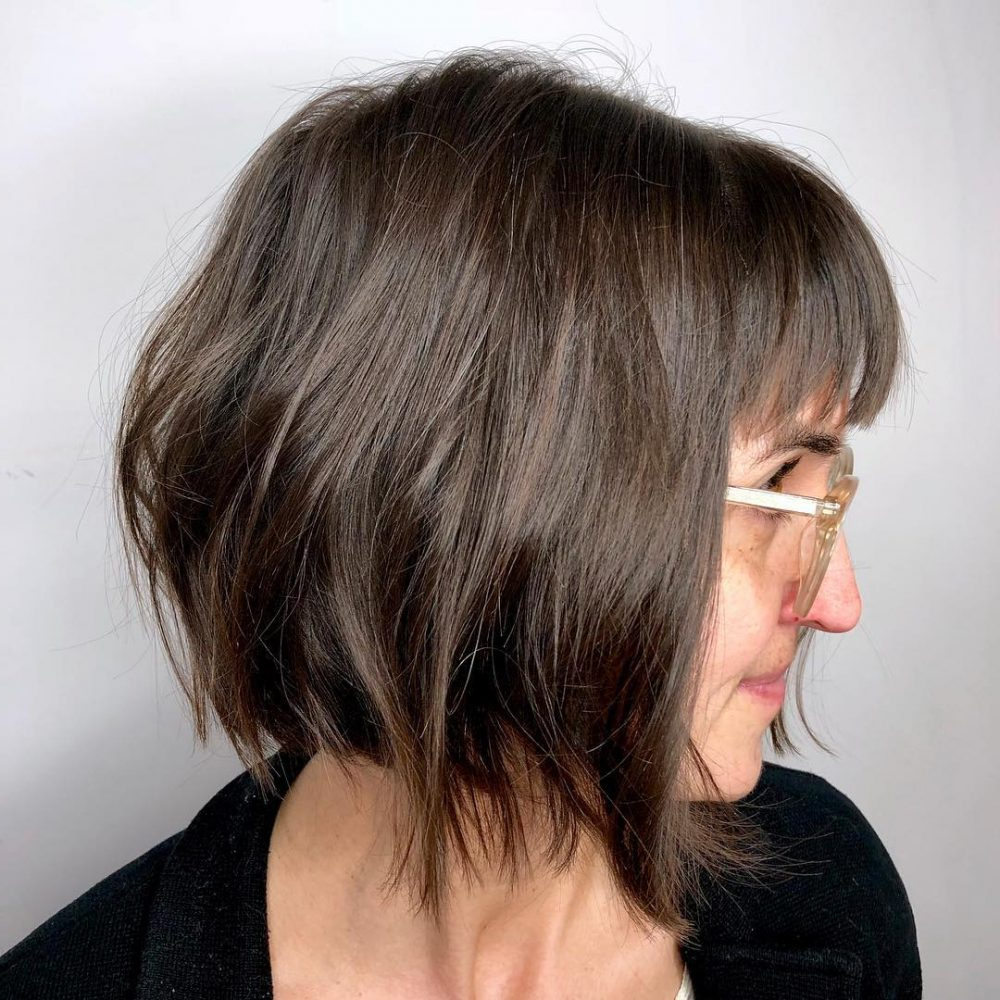 Popular Messy Layered Haircuts For Fine Hair With 34 Perfect Short Haircuts And Hairstyles For Thin Hair (2019) (Gallery 8 of 20)