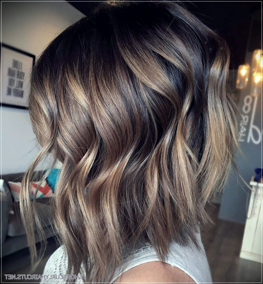 Preferred Choppy Dimensional Layers For Balayage Long Hairstyles Throughout 5 Long Choppy Bob Hairstyles For Brunettes And Blondes – Short And (Gallery 7 of 20)