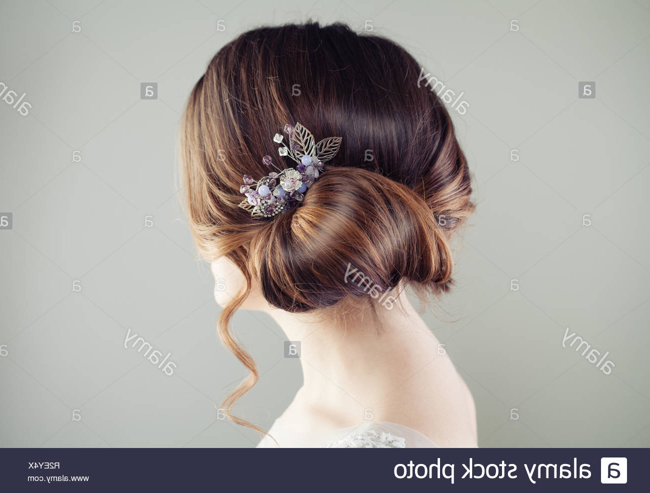Preferred Jewelled Basket Weave Prom Updos Regarding Updo Stock Photos & Updo Stock Images – Alamy (View 9 of 20)